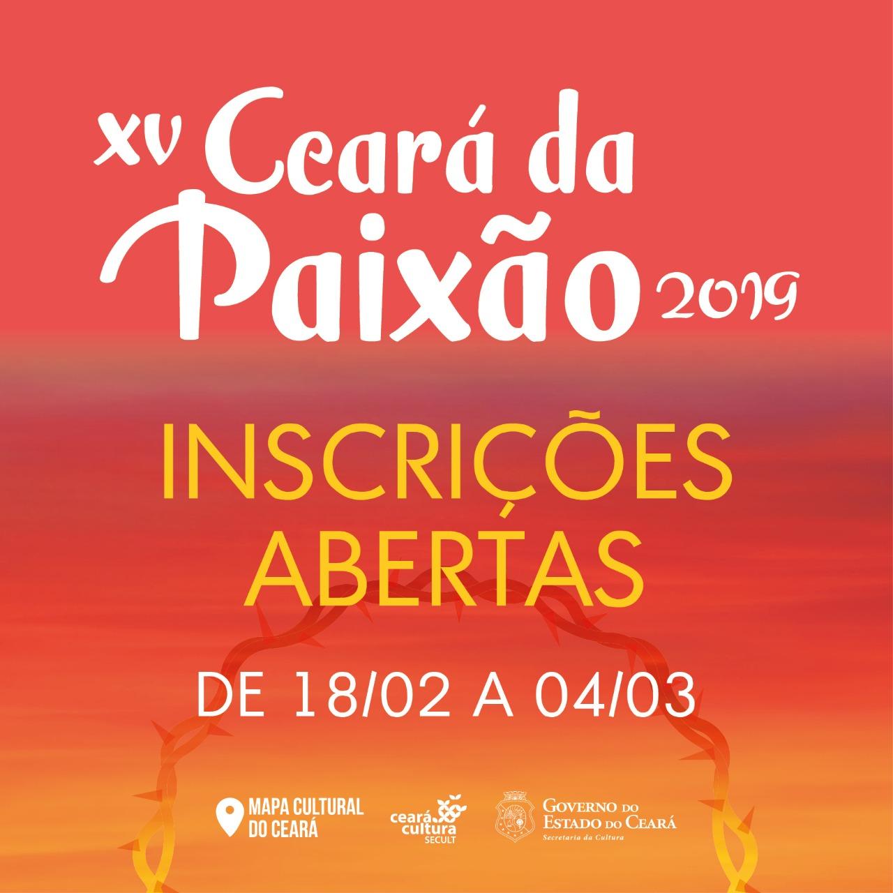 Lançado Edital Ceará da Paixão 2019 1b5a1476a5f