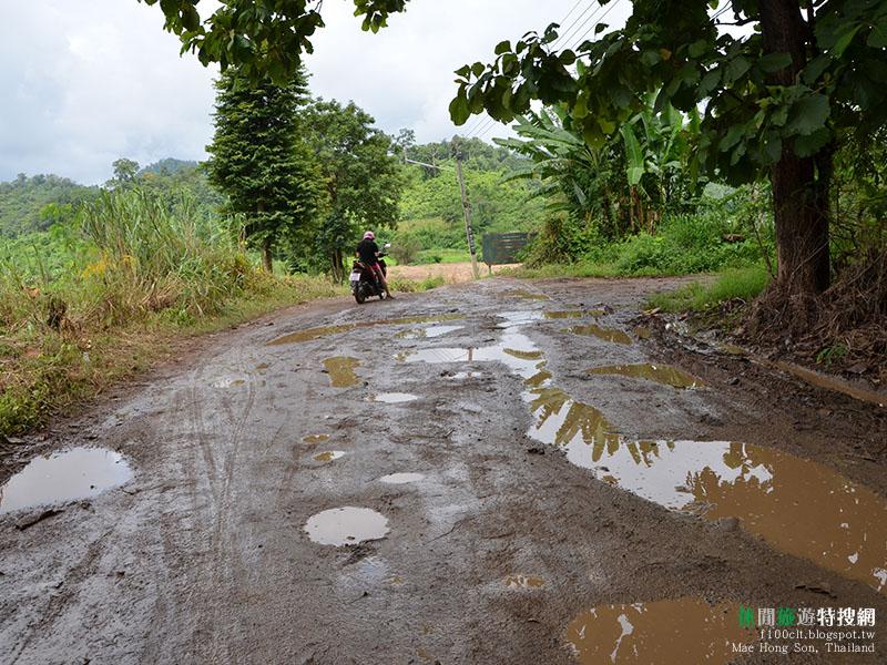 [泰國.夜豐順] 泰北六天五夜摩托車騎行(4) 世界的一角 特殊的部落「長頸族」