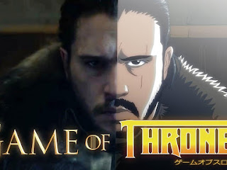 E se Game of Thrones fosse anime!?