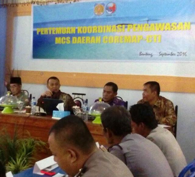 Pertemuan Koordinasi Strategi ,Penanganan, Illegal Fishing ,Di ,Kabupaten Kep.Selayar
