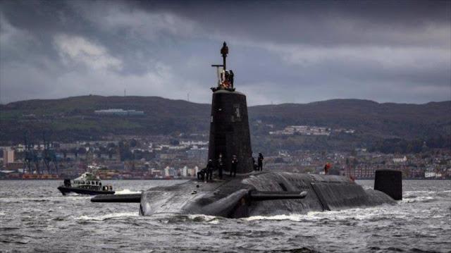 Reino Unido construye submarino capaz de matar naciones enteras