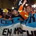 Los mineros de Río Turbio acampan en Congreso