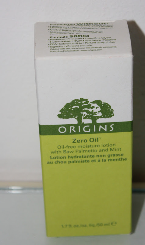 Review: Origins Zero Oil Moisturise Lotion - The CSI Girls