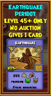 Earthquake - Wizard101 Card-Giving Jewel Guide