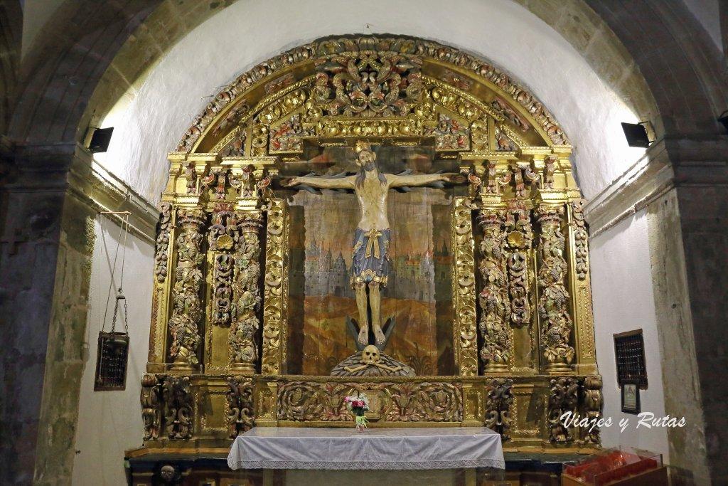Cristo de la cantonada, Iglesia del Monasterio de Corias, Cangas del Narcea