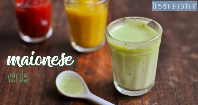 maionese verde receita