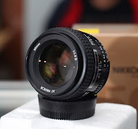 harga Jual Lensa Nikon 50mm F1.4D Bekas