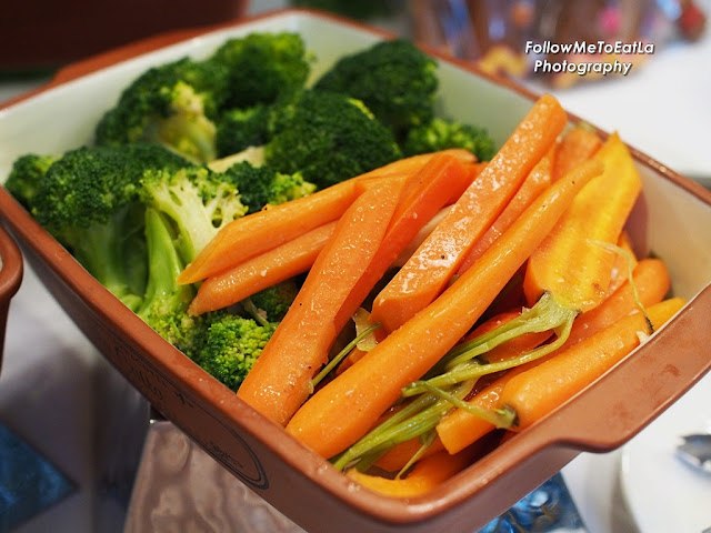 Roasted Carrot & Broccoli