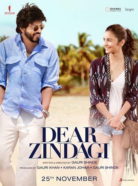 Dear Zindagi 2016 Movie Free Download 720p BluRay