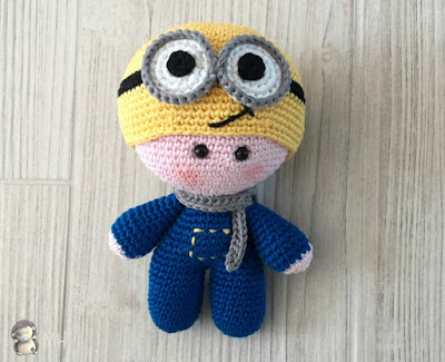 minion a crochet