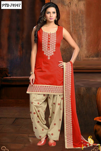 Designer Punjabi Patiala Salwar Suits and dresses Online For Wedding and Party