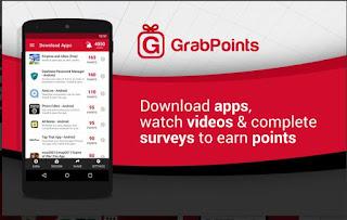 Grab Points Aplikasi Android Penghasil Uang Terbaik