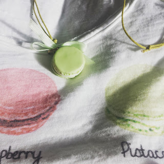 collana Macaron pistacchio verde alberta bijoux