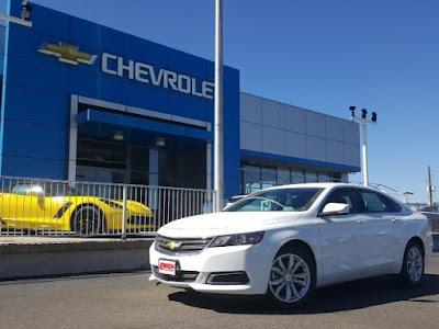 2017 Chevy Impala at Emich Chevrolet near Denver Colorado