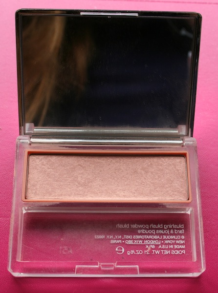 Clinique Aglow Blushing Blush Powder Blush