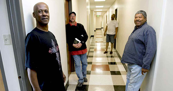 Black veterans excited about new building made for the homeless