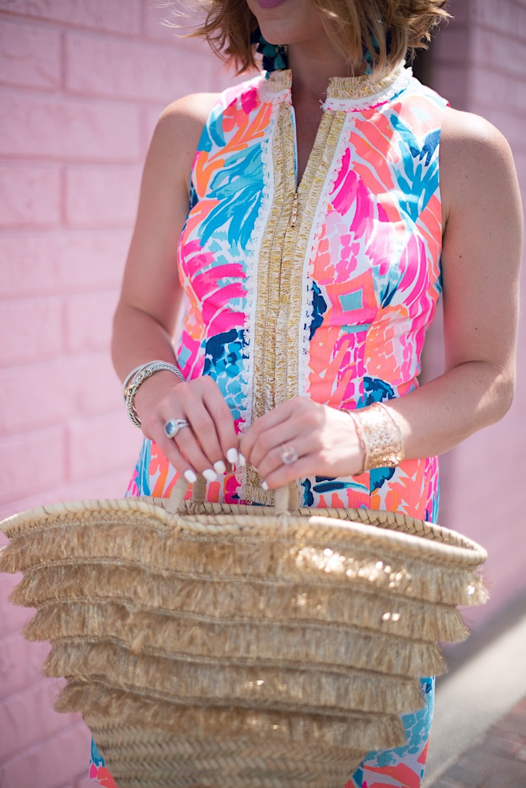 Lilly Pulitzer Multi Goombay Smashed - Click through to see more on Something Delightful Blog!