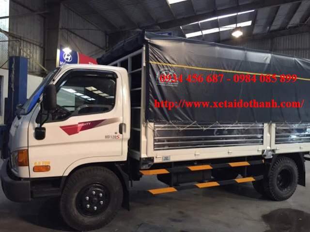 Xe Đô Thành HD120SL thùng bạt 6,2m