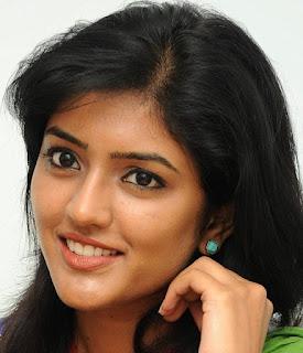 Beautiful Telugu Girl Eesha Rebba Smiling Face Close Up Stills (1)