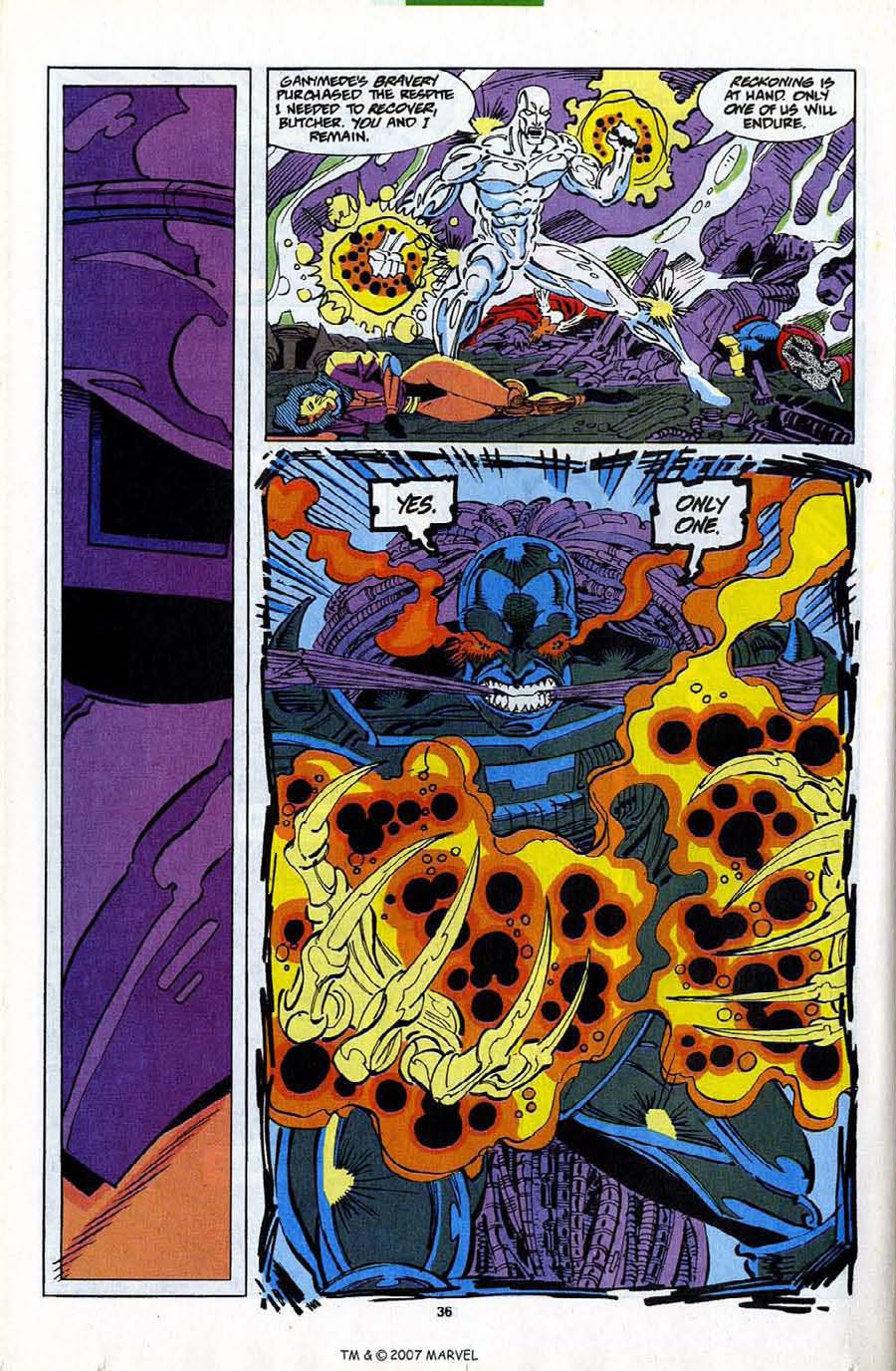 Read online Silver Surfer (1987) comic -  Issue #82 - 38