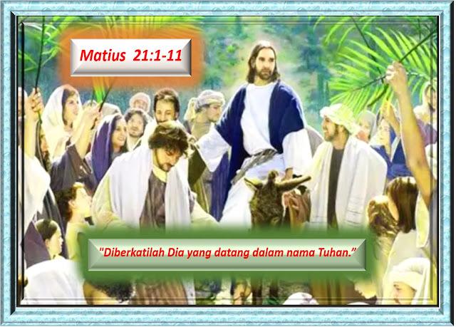 Matius 21:1-11
