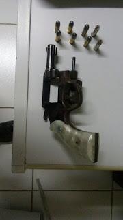 Após denúncia 9° BPM retira das ruas mais uma arma de fogo em São Vicente do Seridó