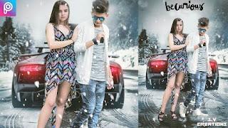 Boy Girl Love Movie poster| PicsArt manipulation |Hollywood Movie Poster|Movi poster in Picsart