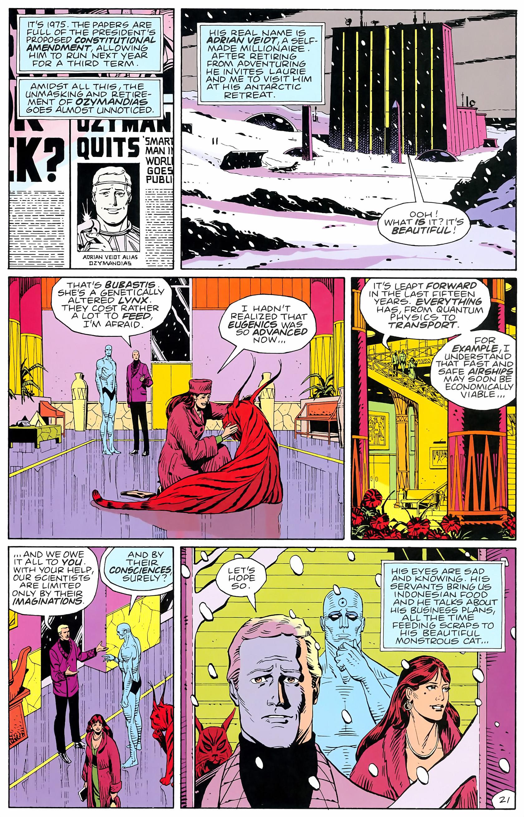 Watchmen (1986) issue 4 - Page 23