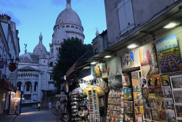 Lembrancinhas em Montmartre