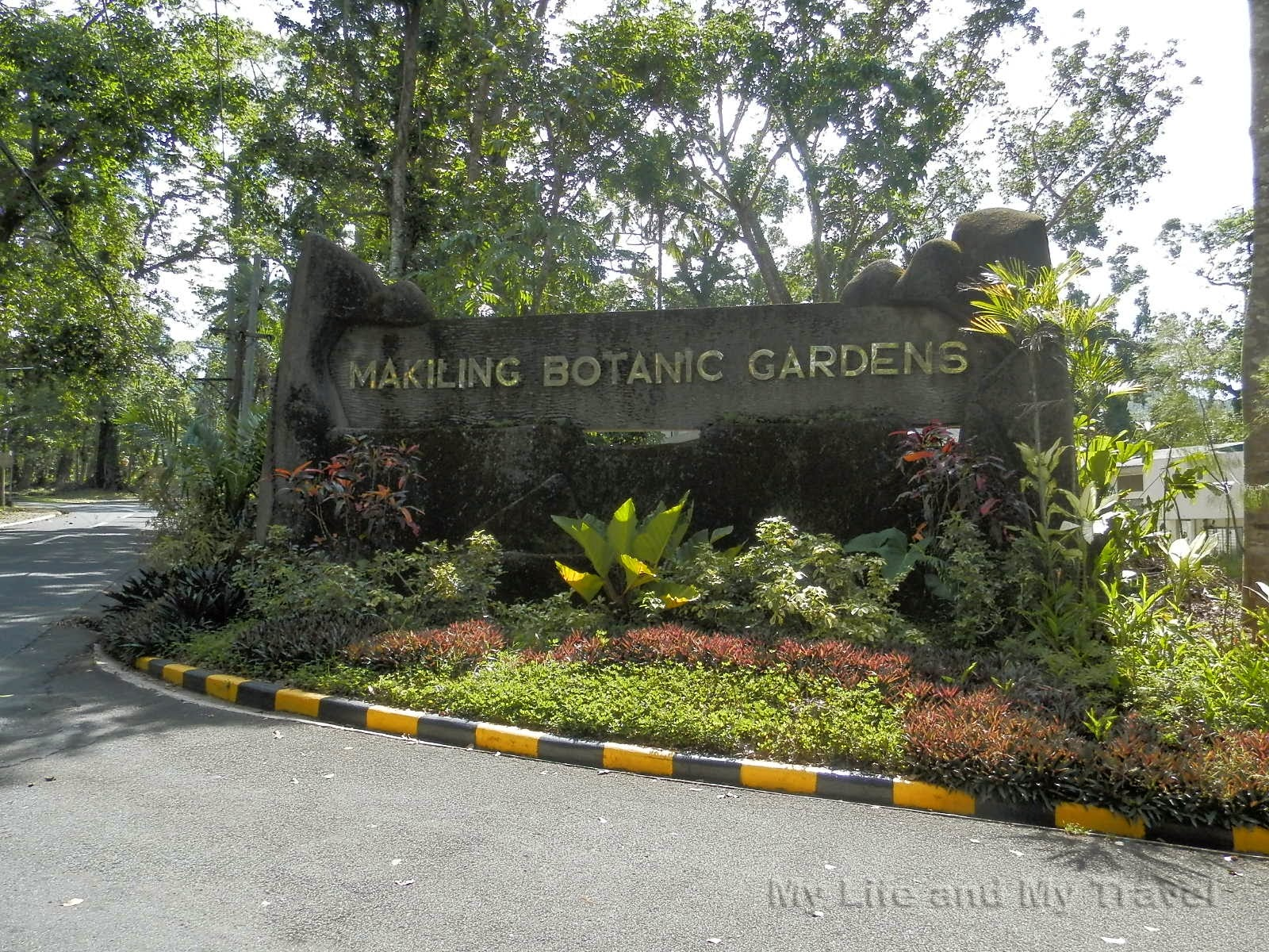 My life and my travel makiling botanic garden for Landscape my garden