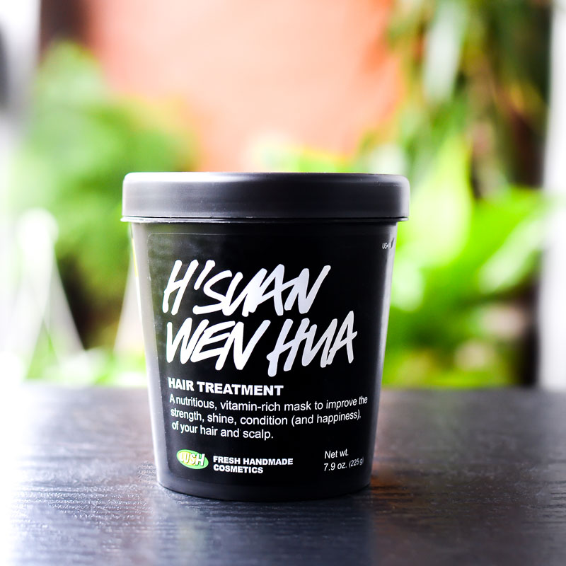 Lush H'Suan Wen Hua Hair Treatment - Review