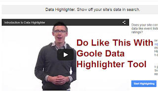 How to use Data Highlighter tool in Google Webmasters