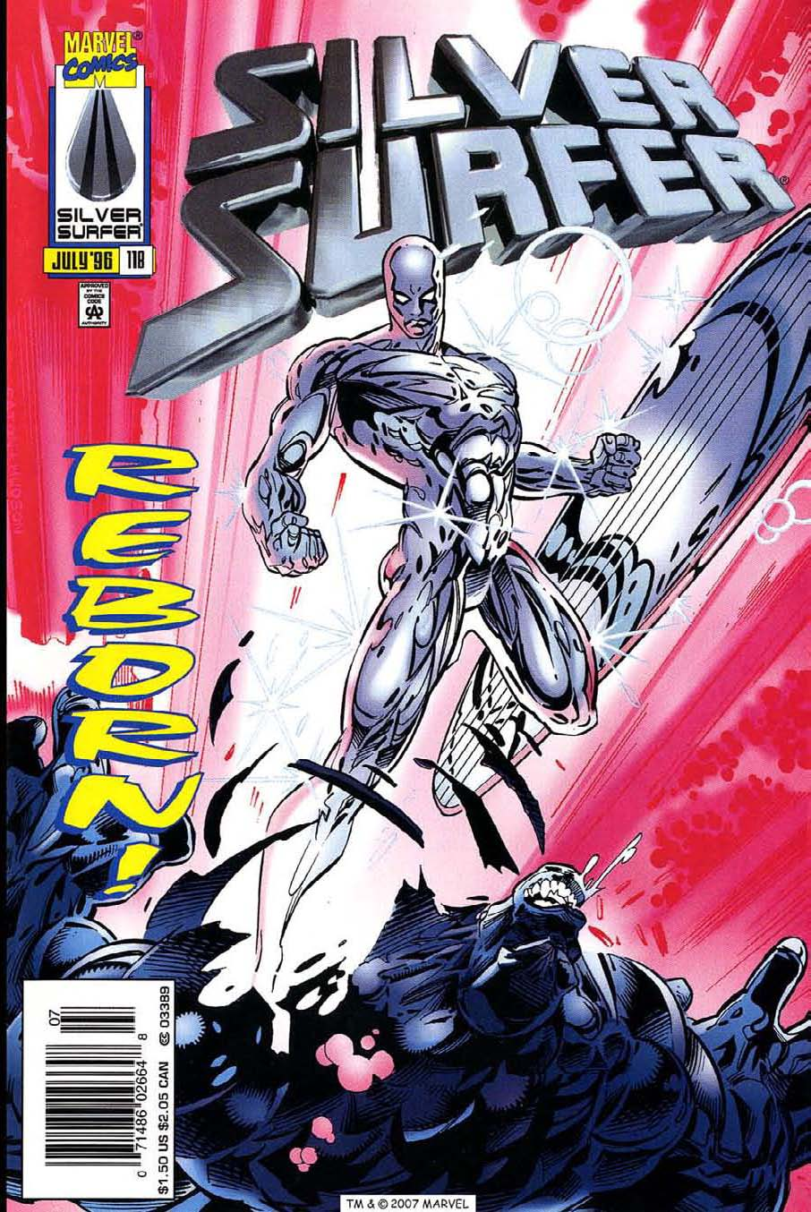 Silver Surfer (1987) Issue #118 #126 - English 1