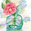 FREE DEMO: Let Loose with Watercolor with LIESEL LUND. July 7, 2018. 11am-12:30pm