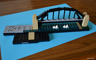 lego architecture sydney - sydney harbour bridge