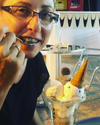 chocomania, copa de helado