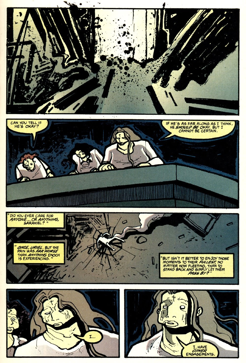 Read online Ted McKeever's Metropol comic -  Issue #8 - 13