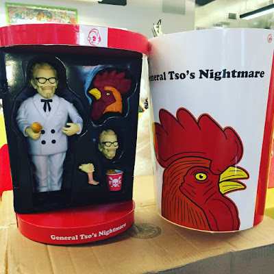 General Tso's Nightmare Vinyl Figure by Frank Kozik x Kidrobot