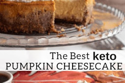 Pumpkin Cheesecake - Low Carb, Keto, Gluten-Free, Grain-Free, THM S