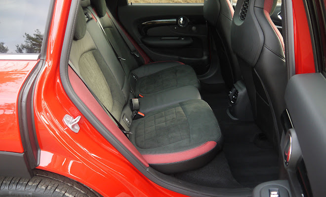 Mini Clubman rear legroom