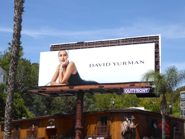 David Yurman Spring 2017 jewelry billboard