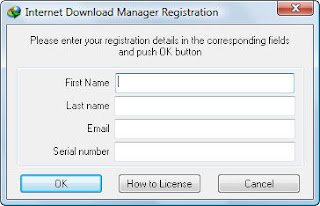 idm error, please enter your registration detail