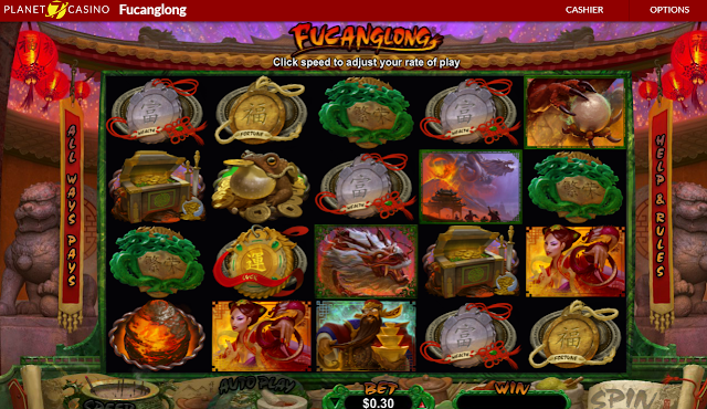 Fucanglong Game at Planet7 Casino