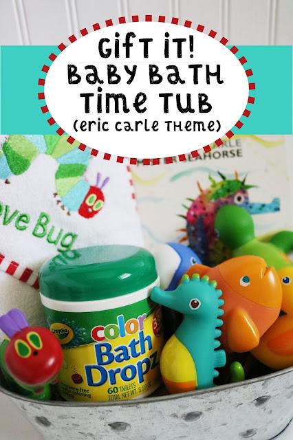 Eric Carle Bathtime Baby Bin
