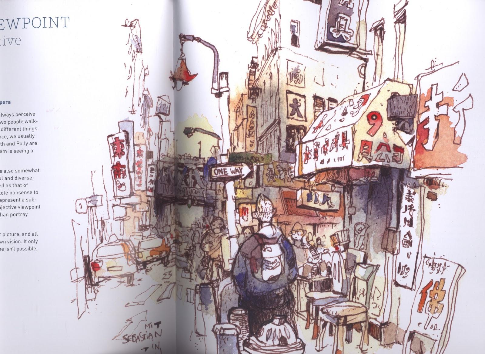 Urban Watercolor Sketching Pdf