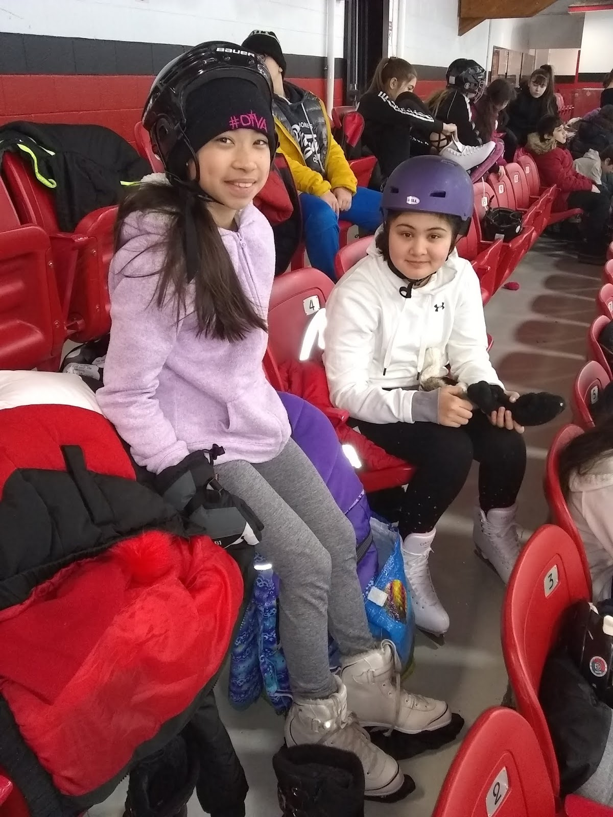 News From Miss Lopez Skating At Martin Brodeur Arena