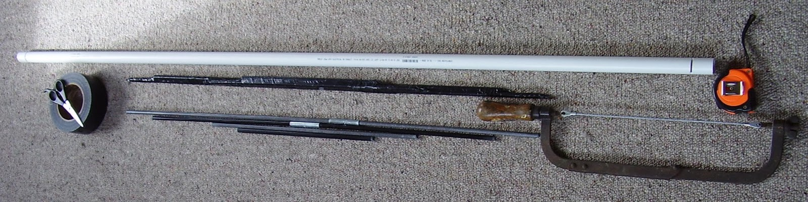 On target shooter nz a low cost us 10 pvc pipe bow for Bow made out of pvc pipe