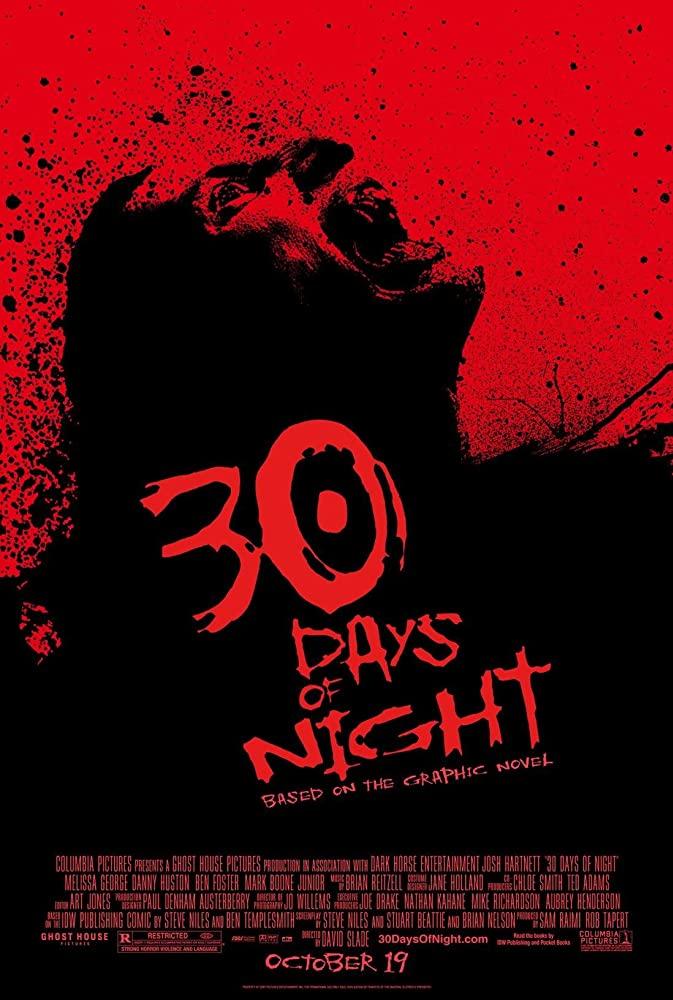 30 Days of Night (2007) Dual Audio Hindi English 720p BluRay Full Movie Free Download