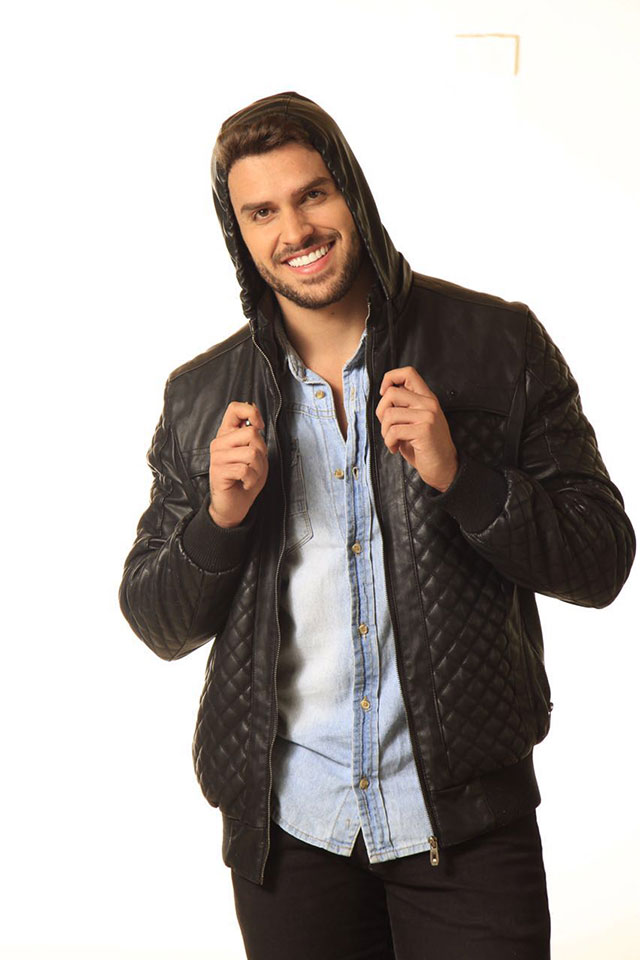 Kainan Ferraz, candidato a Mister Brasil 2016, posa para ensaio. Foto: Jeff Lyppy