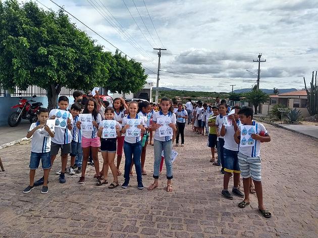 Em Delmiro Gouveia, em comemoração ao Dia Mundial da Água, escolas da rede municipal realizam várias atividades educativas